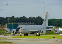 KC135R 80009 (calzer) Tags: morning wisconsin early force air guard national boeing monday lossiemouth kc135r