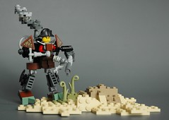 Steampunk microsuit 5 (adde51) Tags: flying desert lego machine steam walker mecha mech steampunk moc adde51 microsuits