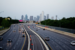 Routine (aditya.basrur) Tags: dallas skyline texas dfw lighttrails longexposure city dallasbig