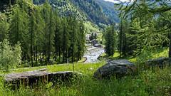 Chardonney (Abdujaparov) Tags: italy panorama mountain alps river landscape hotel europa europe italia fiume alpi montagna aosta valledaosta 2016 aoste chardonney champorcher 1440m ayasse valledaoste