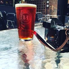 Olympus OMD and beer (Mooganic) Tags: beer camera em5 omd olympus lorelei hotel porthcawl pint