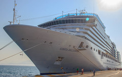 Costa Deliziosa - Our Cruise Ship to Greece - Cruise 2016 (Reddad Ford) Tags: italy costa cruise deliziosa ship water 2016 adriatic sea greece large huge floating
