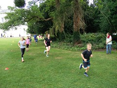 IMG_20160724_094922 (thamossop) Tags: cheltenham junior parkrun 24july2016