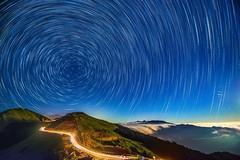 ~~  Moonlight Startrails (Shangfu Dai) Tags:  taiwan nantou   hehuan    startrails nikon d800 afs1635mmf4 3237m  formosa nightscene starry