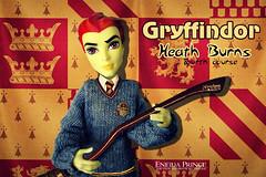 Gryffindor (eneida_prince) Tags: gryffindor monsterhigh doll dolls osalina mattel photo photos mh 2016 monsterhigh2016 photoshoot heathburns fireelemental fire boy boys guys classroom homeick