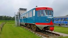 Dutch Railways train type DE2 number 164 in use as hotelroom in Hoogwoud, The Netherlands (sirgunho) Tags: dutch railways train type de2 number 164 use hotelroom hoogwoud the netherlands ns nederlandse spoorwegen blauwe engel