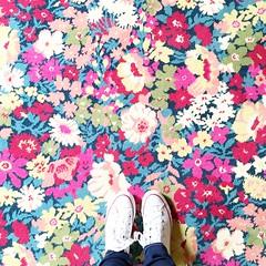 Liberty London & Alternative Flooring collab. (Lucy Loves Ya Blog) Tags: converse inspirationiscolour floors alternativeflooring libertylondon flowers