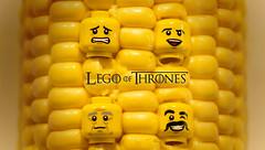lego of thrones (jezbags) Tags: game macro yellow wall closeup canon fun corn lego joke 100mm heads got thrones macrophotography 60d canon60d macrolego macrodreams