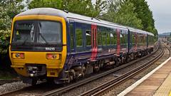 166215 (JOHN BRACE) Tags: 1992 brel york built class 166 dmu 166215 seen horley station first great western livery