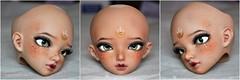 Minifee Luka face up (nekomuchuu63) Tags: face up painting doll bjd custom fairyland luka msd minifee nekomuchuu