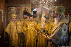 Божественная литургия в пос.Котово 109