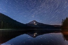 I know nothing with any certainty, but the sight of the stars makes me dream (Robie..) Tags: oregon star startrail nightphotography nikond750 trilliumlake mthood reflection