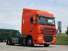 HR - Daf XF105 460 SC - Mandaric (Marko-HRHB) Tags: truck parking 60 daf lkw xf outdooe euro5 veichle mandaric