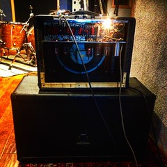 Dark Side of the Amp (Pennan_Brae) Tags: recording recordingstudio musicstudio amplifier amp music guitaramplifier guitaramp guitar