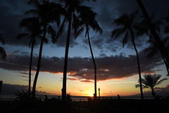 DSC_5160 (meganewens) Tags: maui iao needle sunset kaanapali lahaina hawaii digital black white waterfall