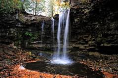 Hilton Falls (Cominupshort) Tags: autumn cliff ontario canada fall nature landscape nikon rocks outdoor hilton falls milton cascade escarpment nikond5000