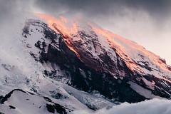 Mt. Rainier (justinmullet) Tags: mountain rainier landscape sunset dramatic