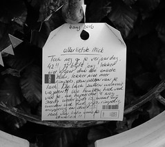 'Memories Of Our Dear Departed' (Miranda Ruiter) Tags: photography death writtencard cemetaries graveyard alkmaar