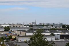 View over Marzahn, Hellersdorf and Ahrensfelde (baurichter) Tags: berlin monument concrete plattenbau ddr derelict gdr urbanexploring urbex wollenbergerstrasse