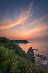 Hachiman Sunrise (lestaylorphoto) Tags: japan chiba bosopeninsula hachiman cape sunrise pacificocean nikon d610 1635mm leslie taylor lestaylorphoto