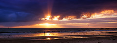 bravery often means being strong enough to accept your own weaknesses (Bec .) Tags: bec canon 80d 1022mm woman walking silhouette water ocean shore beach genelgbeach adelaide southaustralia clouds light rays beautiful sand rocks reflection braveryoftenmeansbeingstrongenoughtoacceptyourownweaknesses