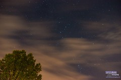 Too Cloudy for Meteors (The Suss-Man (Mike)) Tags: clouds gainesville georgia hallcounty nature night perseidmeteorshower sky sonyslta77 stars sussmanimaging thesussman tree unitedstates 52in2016 themelongexposure week32 longexposure slowshutterspeed