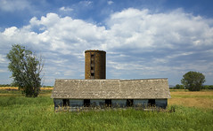 the milking parlor revisited (eDDie_TK) Tags: sky clouds rural colorado farming barns loveland co farms silos rurallife ruralliving lovelandco larimercounty ftcollinsco ftmorganco larimercountyco