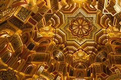 Arab Room ceiling (loop_oh) Tags: arabroom ceiling greatbritain uk unitedkingdom cardiff wales cardiffcastle castle cymru gold golden chamber room