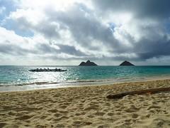 Lanikai Beach (jenesizzle) Tags: hawaii oahu kailua lanikai lanikaibeach paddling paradise