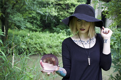 paigewithcrystalball (MattyApel) Tags: portrait witch mystical crystalball