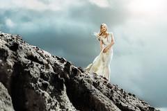 Paint it black (David Pinzer) Tags: people portrait girl fashion beauty mystic ethereous mystical sun fairy tale fantasy dress couture evamhlenbeck elf