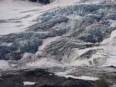 Bottom of Eliot Glacier (mmcg6302) Tags: mount hood oregon cooper spur hiking