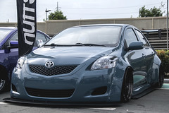 Widebody Vios (Justin Young Photography) Tags: cars manila philippines toyofestphilippines toyota vios belta xp90