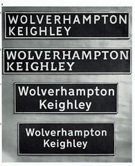 Lettering and legibility - UK road sign lettering comparison chart, Design Magazine, 1961 (mikeyashworth) Tags: typeface typography roadsigndesign 1961 lettering legibility davidkindersley edwardjohnston designmagazine richardkinneir jockkinneir margaretcalvert mikeashworthcollection