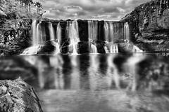 Paulo Campos (Photographer/Photojournalist) Tags: waterfall 2016 black white monochrome water nature open air beauty flicker flickr agua cachoeira paisagem landscape surrealista serenidade