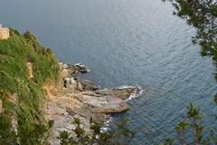montemarcello (dinapunk) Tags: montemarcello italy liguria sea rock cliff