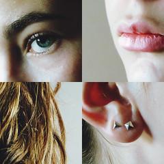 minutiae (delfphina) Tags: selfportrait self portrait detail details macro macroshot eye blue lips people