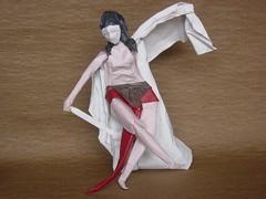 Study 1(A Battle for Liberty): (Zenshiro Toshinao) Tags: origami  paperfolding figure art