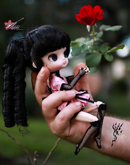 Daddies Little Flower (dreamdust2022) Tags: nikki girl cute playful flirt sassy killer kisser party star dancer dark dal doll