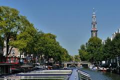 P2390380 (Lumixfan68) Tags: westerkerk amsterdam prinsengracht sightseeing grachtenfahrt