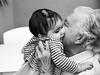 The Great Love of a Grandfather (Stefano Faccenda) Tags: people blackandwhite baby girl child faces grandfather persone grandparents nonno facce