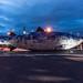 THE BIG FISH NEAR THE LAGAN WEIR IN BELFAST [NIGHT VIEW] REF-104716