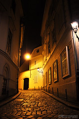 Visoka Street, Zagreb (DSHPhotography.) Tags: street city architecture canon outdoor croatia zagreb oldtown atnight hrvatska