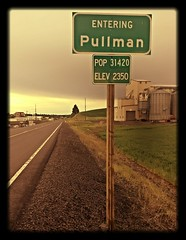 Entering Pullman (Dai Lygad) Tags: pullman washingtonstate photo photography picture image jeremysegrott dailygad flickr photograph segrott jeremy caerdydd caerdyddwales camera amateurphotography photos photographs images pictures