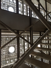 Institut du Monde Arabe (anarchitecte) Tags: paris architecture institutdumondearabe moucharabieh jeannouvel debussire