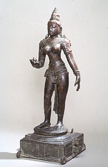 The Goddess Pavarti (Ackland Art Museum, Chapel Hill, NC)