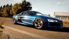 Audi R8 V10 Plus (Noble WarWolf) Tags: photo fotografie xbox microsoft audi supercar v10 sportscar r8 forzamotorsport hypercar turn10 forzahorizon2