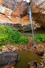 20150523 Emerald Pools (Zion)-4 (Tony Castle) Tags: park nature forest utah us waterfall unitedstates hurricane national pools zion znp emeral
