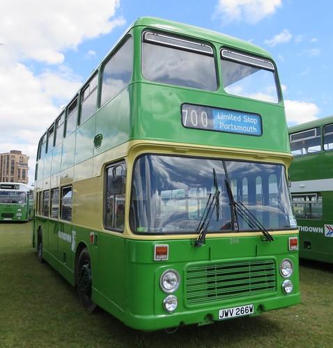 JWV266W 266 Southdown Bristol VR
