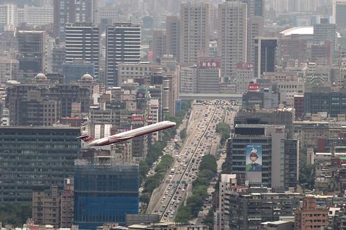 劍潭山親山步道-老地方觀機平台